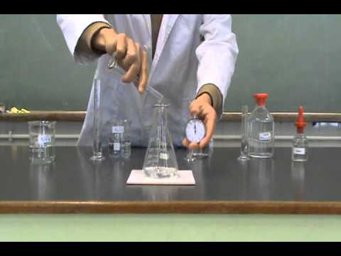 Jason Chemistry World - Clock Experiment