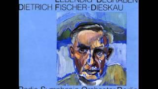Dietrich Fischer-Dieskau sings Othmar Schoeck - Lebendig begraben op. 40 (1927)