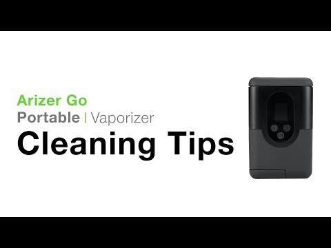 Arizer Go (ArGo) Portable Vaporizer Cleaning Tips