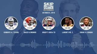 UNDISPUTED Audio Podcast (10.05.18) with Skip Bayless, Shannon Sharpe & Jenny Taft   UNDISPUTED