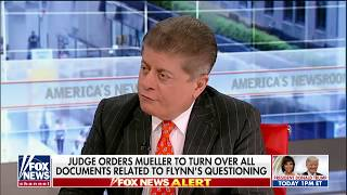 Judge Nap on Flynn's Allegation of FBI Pressure: 'That Is Not a Defense to Lying'