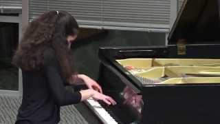 Tchaikovsky April & Rachmaninoff Prelude in C minor Performed by Shoshana Novik