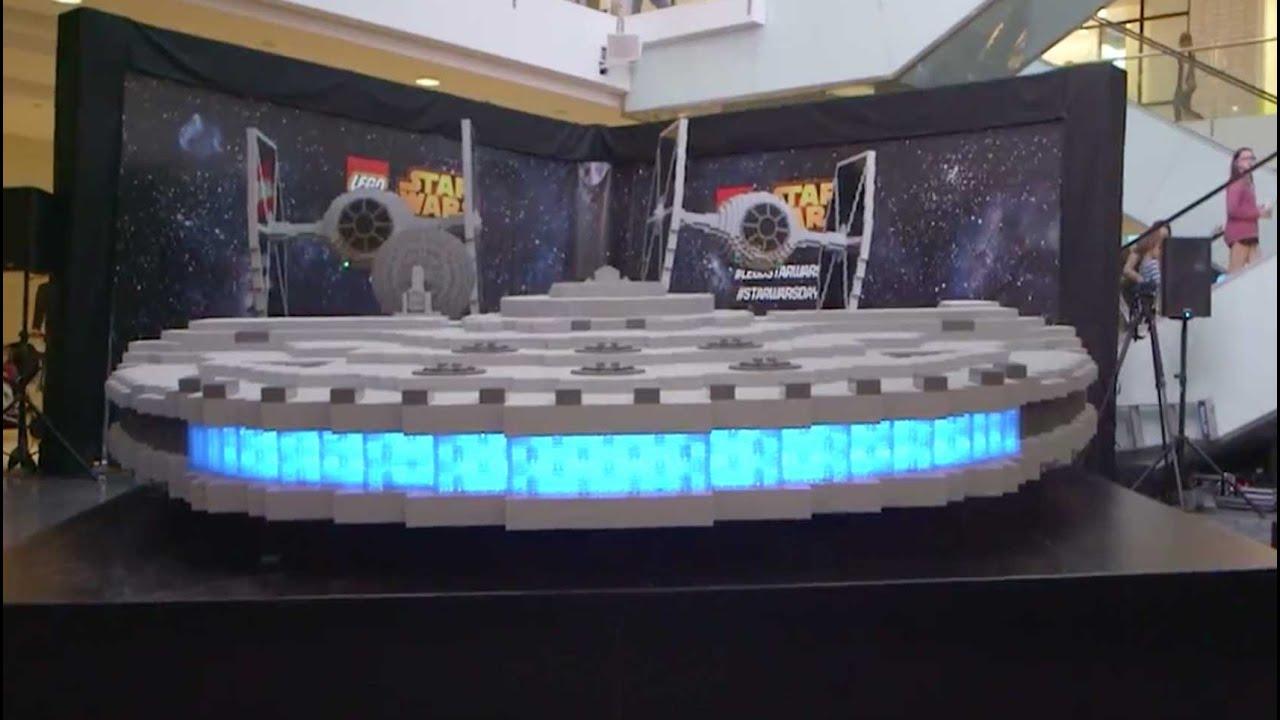 la m s grande nave de star wars constru da con legos youtube. Black Bedroom Furniture Sets. Home Design Ideas