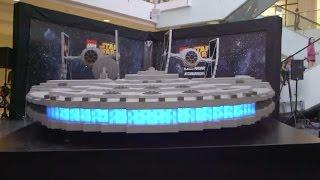La más grande nave de Star Wars construída con legos