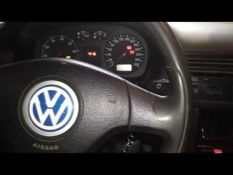 VW Bora ЕГР, давление топлива