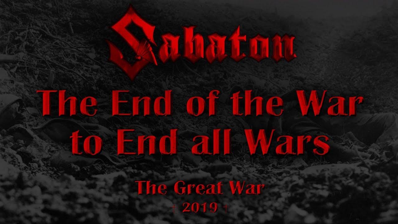 Sabaton - The End of the War to End All Wars (Lyrics English & Deutsch)
