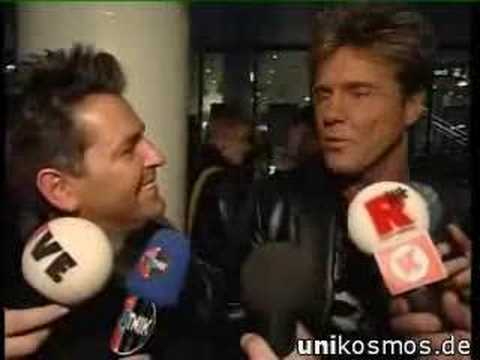 The german Band Modern Talking in Interview about Elvis