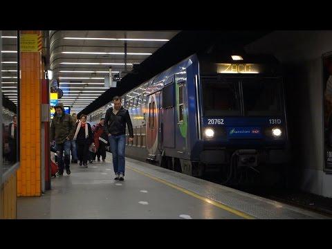 RER D à Paris