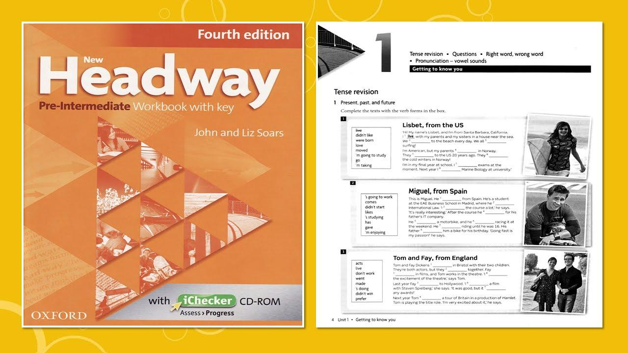 new headway pre-intermediate 4th edition скачать бесплатно