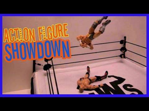 Chris Jericho Vs. Adrian Neville - Fantasy Figure Match-up JWS: Action Figure Showdown