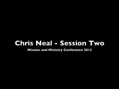 "Audio of Chris Neal's 2nd address ""Dream"""