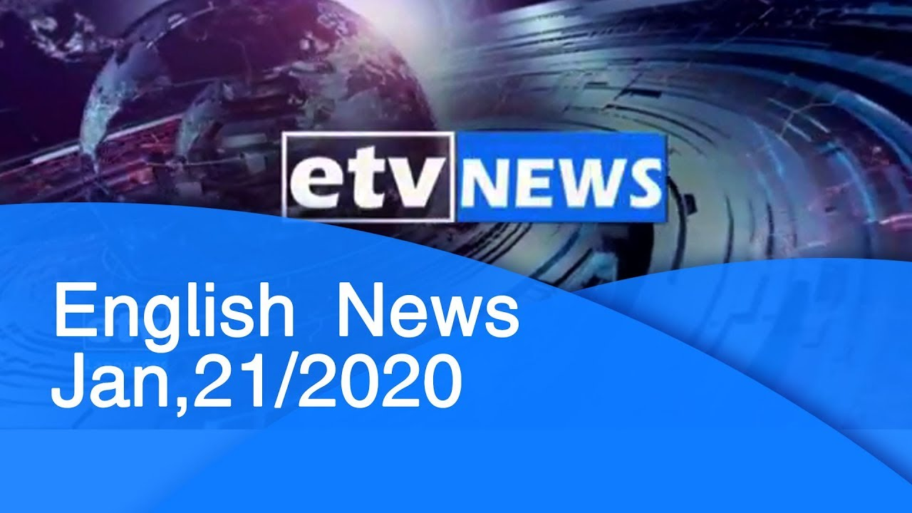 English News Jan,21/2020