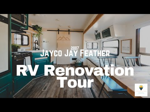 SOLD! Renovated RV Tour. Before And After!