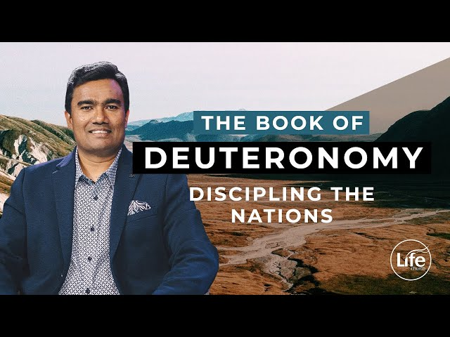 Deuteronomy 7 - Discipling the Nations | Rev Paul Jeyachandran