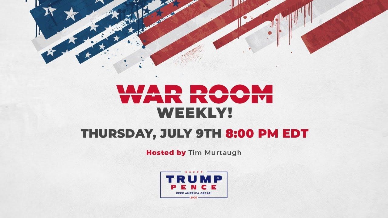 WATCH: War Room Weekly with Tim Murtaugh, Matt Schlapp, and Rep. Vernon Jones