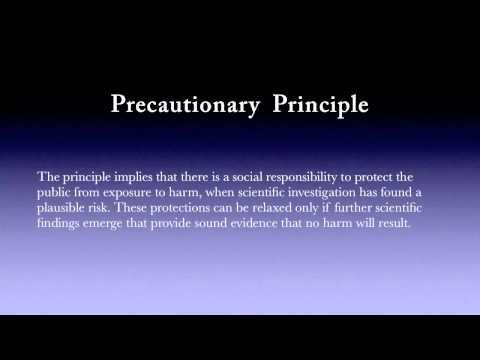 Precautionary Principle - Reception Area Video Clip - Evans Dental Health