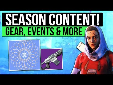 Destiny 2 HUGE UPDATE! - Season 2 Content, New Gear Preview, Gameplay Changes & The Dawning Event!