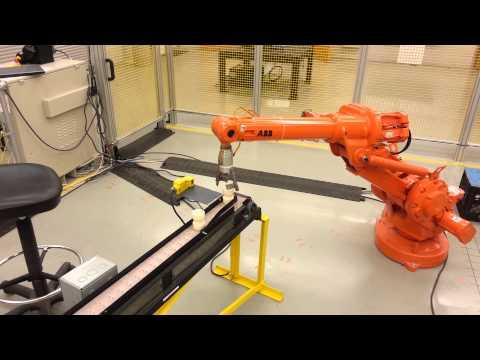 ABB Robot program @ Spartanburg Community College