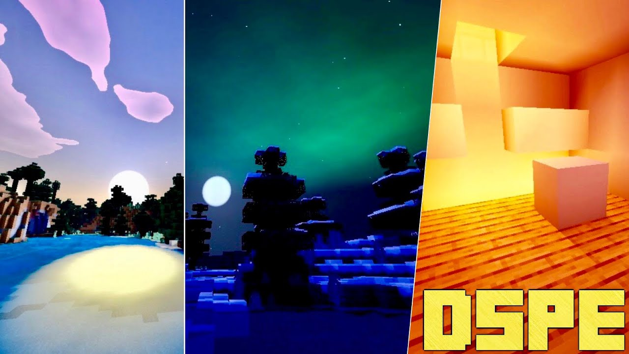 New DSPE Ultra Shader For Minecraft PE 1.16.2+ Realistic Shader Pack