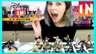 EPIC DISNEY INFINITY 3.0 PS4 Video Game and Figures - Star Wars, Mickey and More!