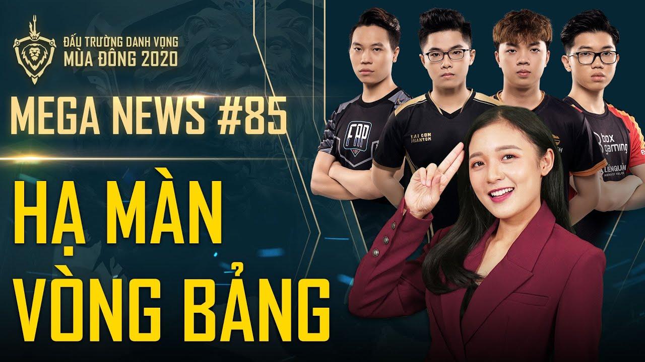 ĐTDV mùa Đông 2020 khép lại vòng bảng. SGP chờ đợi đối thủ ở chung kết 8/11 | MEGA News #85
