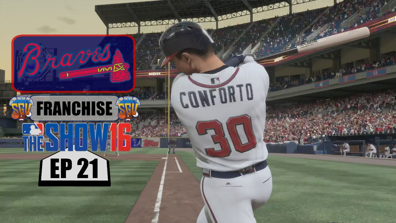 MLB The Show 16 (PS4) Atlanta Braves Franchise EP21