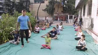 Childrens special Yoga Day (Riddhi Yoga & Meditation)