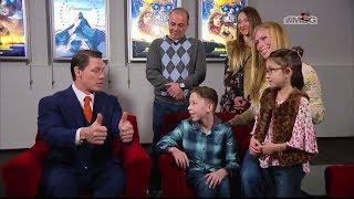 John Cena Surprises Young Fan With Cerebral Palsy | Garden of Dreams
