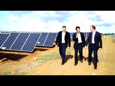 Inauguration Solar Field - Mauritius