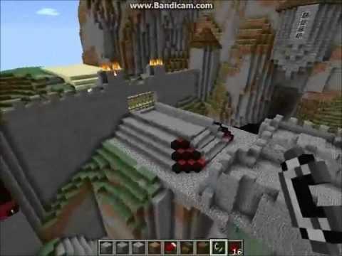 Cool Minecraft Redstone Drawbridge And Castle Gates With