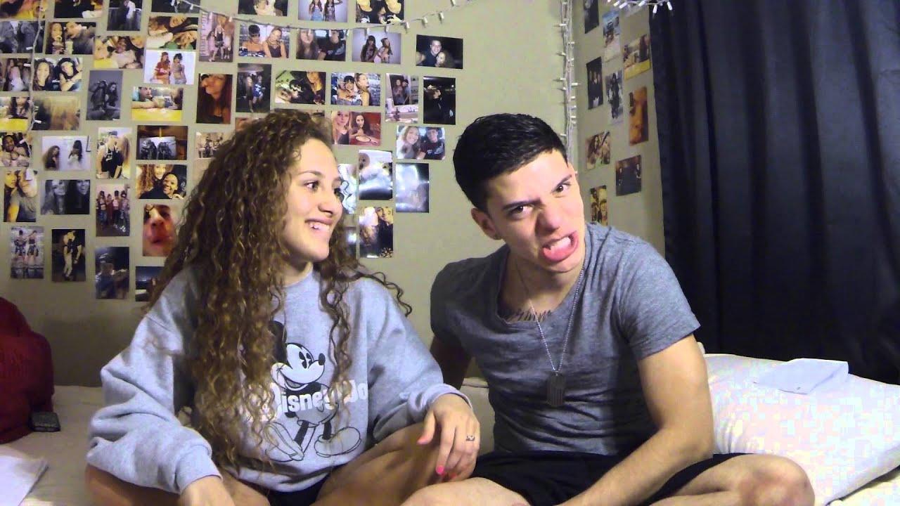 EX GIRLFRIEND TAG + KISSING - YouTube