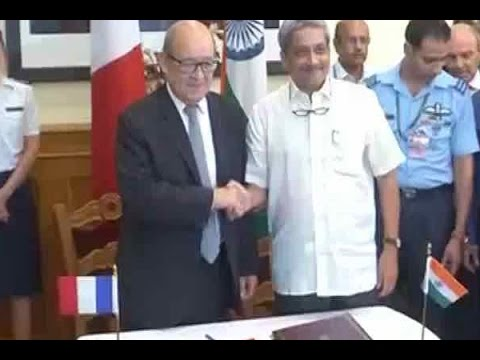 India seals deal for 36 Rafale fighter jets from France