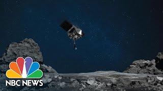 NASA's OSIRIS-REx Spacecraft Touches Down On Asteroid | NBC News NOW
