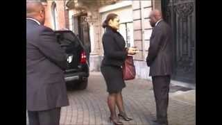 Liliane bemba et le MLC Benelux à l