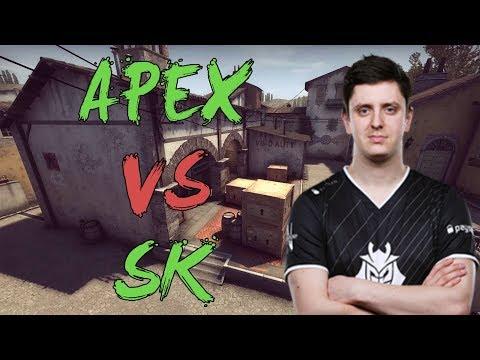 CSGO: POV G2 apEX vs SK Gaming (39/23) inferno @ DH Masters Malmö 2017