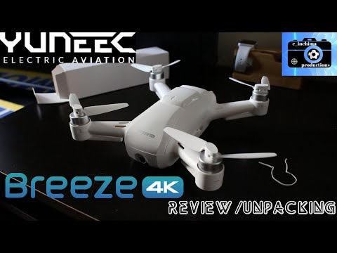 YUNEEC'S BREEZE 4K DRONE: REVIEW/TESTING/UNPACKING