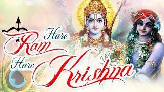 MAHA MANTRAS :- HARE RAM HARE KRISHNA | VERY BEAUTIFUL - POPULAR KRISHNA BHAJANS ( FULL SONGS )