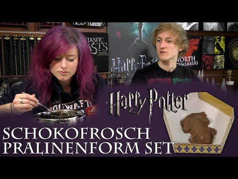 Harry Potter: Schokofrosch Pralinenform Set