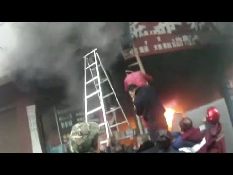 Veteran Soldier Rescues Mother, Two Kids Trapped In Fire