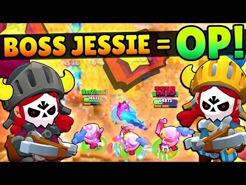 NEW BOSS JESSIE IS UNSTOPPABLE IN BIG GAME! NERF HER NOW!!!