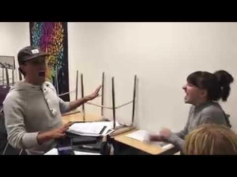 Jessie And David Burnham Get Happy Rehearsal Clip