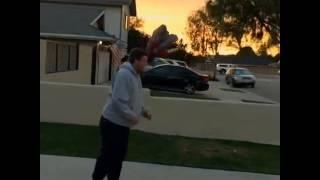 Dunk over a car Video