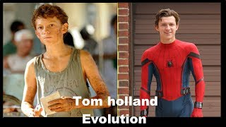Tom Holland all transformation [Spider-Man: Homecoming]