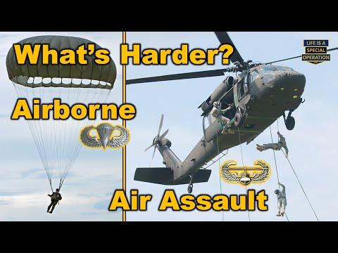 What's Harder - Airborne School or Air Assault School?