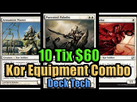 MTG Modern Kor Equipment Combo Deck Tech