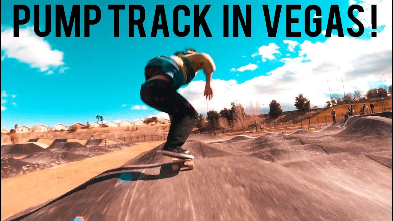HOW TO LONGBOARD A PUMP TRACK IN LAS VEGAS HUNGOVER - YouTube 6d9e641bf82