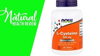 Now Foods, L Cysteine, 500 mg, 100 Tablets