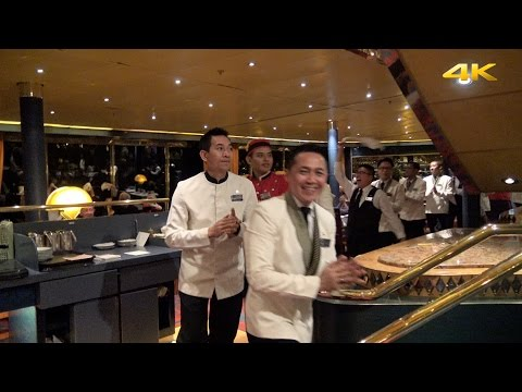 "Crew Farewell Parade Holiday Cruise ms ""Rotterdam"" (HAL) on January 6, 2016"