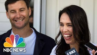 New Zealand's Prime Minister Says 'I'm Not The First Woman To Work And Have A Baby' | NBC News