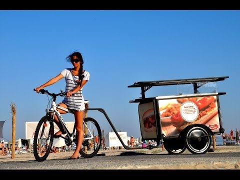 Hot Dog and Crepes bicycle ( Business Idea )